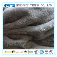 Tissu d'ouatine de corail de polyester 150GSM pour la maison