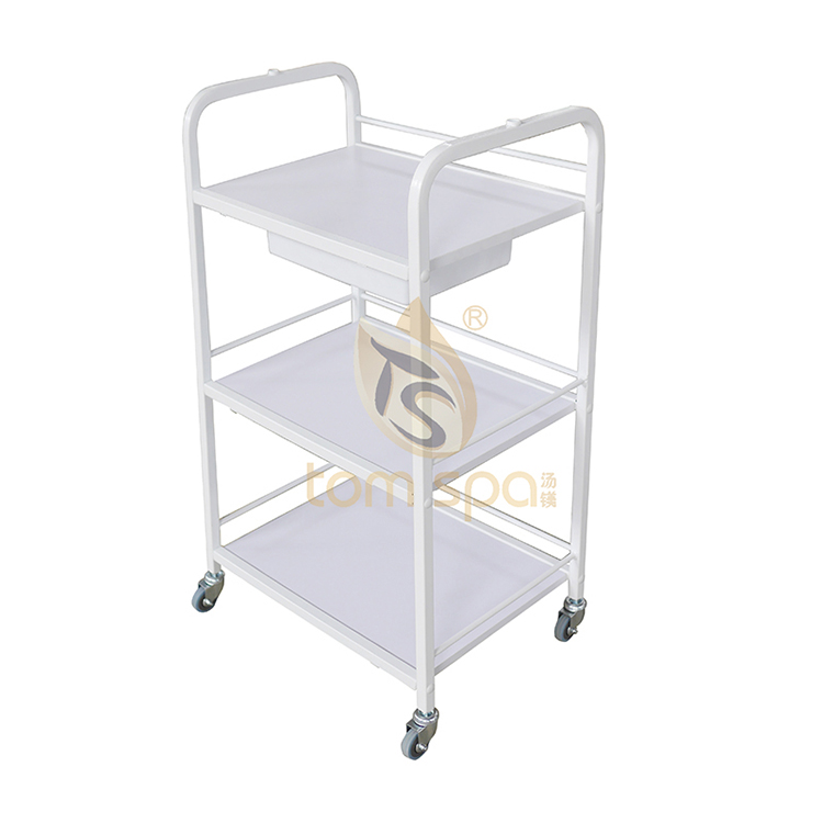 Portable Salon Trolley With Handle