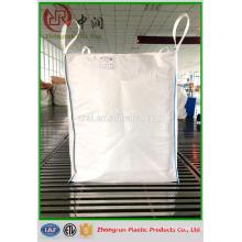 basura y construcción bolsa de basura grande / 1000 kg pp a granel bolsa grande / bolsa de PP material de construcción a granel