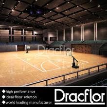 Pavimento de esportes de PVC de piso de basquete de qualidade superior (S-8010)