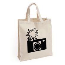 Customized logo eco resusable canvas bag 100% cotton tote bag shopping