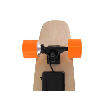 Orange Rad Mini Fisch Elektrisches Skateboard