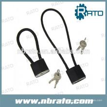 Serrure à poteau laminé en acier au câble RP-170