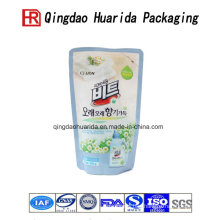 Stand up Laundry Detergent Plastic Bags Packaging