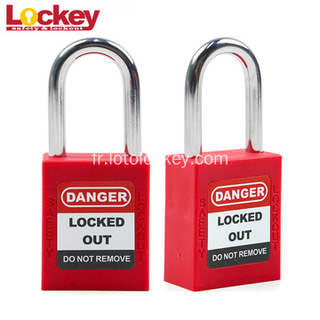 Loto Key Sécurité Lockout Tag out cadenas OHSA