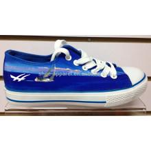 2014 chaussure de toile de Chine bleu royal