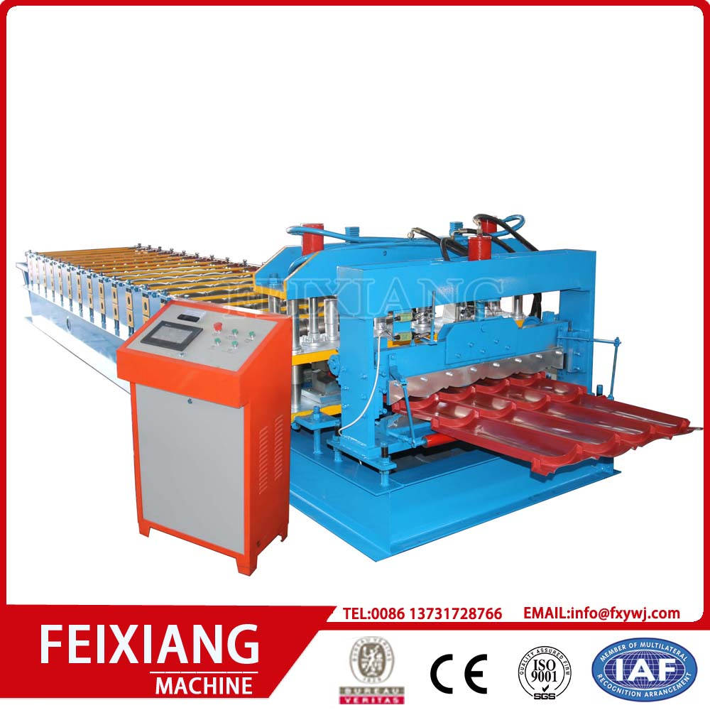 Roll Panel Roof Aluminium Glazed Roll Forming Machine