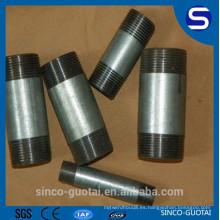 pezones de tubo de acero inoxidable hembra / macho de alta calidad y precio bajo
