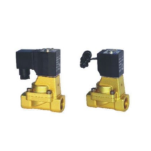 Indirect acting and normally opened type 2/2 way solenoid valve 2KW series fluid control valves