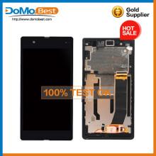 Meilleurs prix pour Sony xperia Z L36H original LCD Touch Screen numériseur Frame Assembly complet