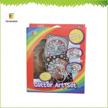 glitter art set ,gift and art and craft,children kids painting