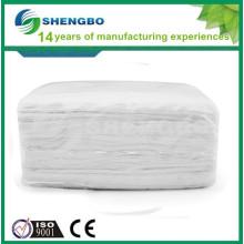 Tissu de nettoyage en argent 33 * 60cm BLANC