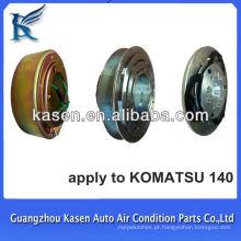 Embreagem 24V auto ar condicionado para KOMATSU 140