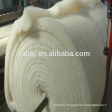 Top grade washed merino wool batting /wadding for mattress/home textiles