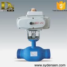 Le gazoduc utilise une vanne à bille motorisée dn50