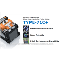 Leicht und handlich TYPE-71C + mit Touchscreen zu guten Preisen, SUMITOMO Connector auch erhältlich