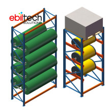 CE Powder Coating Metal Storage Rack Cable Coil Hanging System