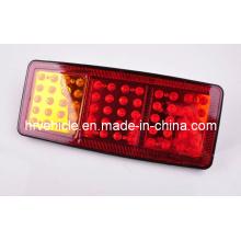 Luz ámbar / roja / roja de la luz de la combinación del LED para el carro