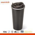 Tasse de voyage à café en acier inoxydable isolée 16oz isolée avec couvercle