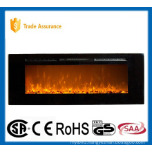 """60"""" classic recessed/wall mounted electric fireplace heater"""