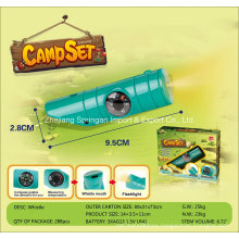 Boutique Playhouse Plastic Toy-Camping Compass Flashlight