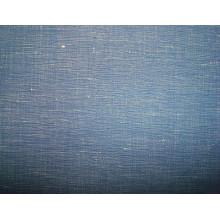 Tissu simple en coton Slub