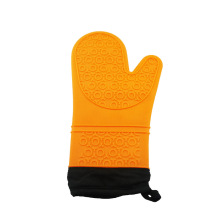 silicone oven gloves  pot mitt with Liner