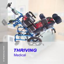 Silla de ruedas reclinable Thr-Cw958L para niños con parálisis cerebral