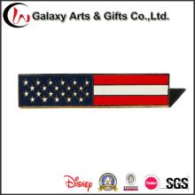 Пользовательские Качество Национальный флаг штыри отворотом металла для одежды