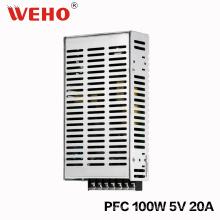 Leistungsfaktor 100W 5V Stromversorgung mit Pfc-Funktion