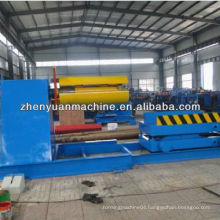 10 T hydraulic decoiler with car