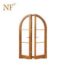Economical Upvc Arched french casement windows