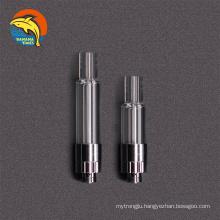 UK trendy 1.5mm*3.2mm coil 0.5ml vape cartridge packaging cbd Philadelphia original full glass empty cbd oil cartridge 1ml