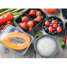 PP-Mikrowellen-sicherer Wegwerfimbiss-Behälter-Küche