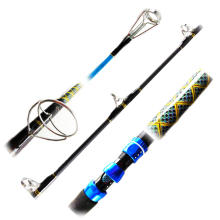 PPR001-5 customized carbon rod fight drag popping rods