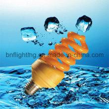 Ampoule d'économie d'énergie anti-moustique de lampe de couleur jaune 11W (BNF-Y)