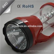2015 Luz solar conduzida solar ao ar livre do poder superior do estilo novo das vendas quentes, luz de emergência recarregável conduzida