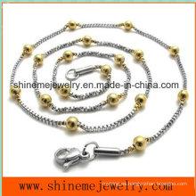 Collar caliente-vendedor de la cadena del grano del acero inoxidable de la manera (SSNL2631)