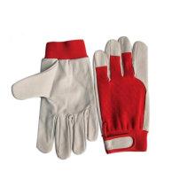 Durable Pig/Goat skin leather driver Gloves ZM125-H