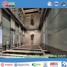 Etched Stainless Steel Sheet for Elevator Door