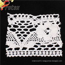 2015 New Design Flower Knitted Lace Trimming