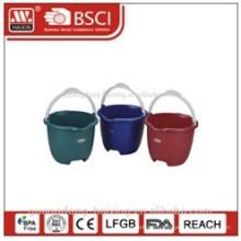 plastic bucket w/o lid 9L