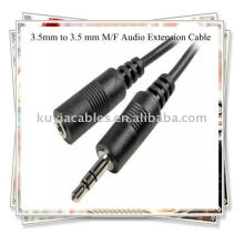 3,5 мм до 3,5 мм кабеля, M / F аудио удлинитель