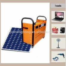 portable solar power generator system