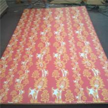 Mehr als 200 Farb- und Kornpapier-Overlay-Sperrholz für den Nahostmarkt