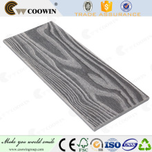 New 3d embossing wood grain wpc wall panels for house decorative