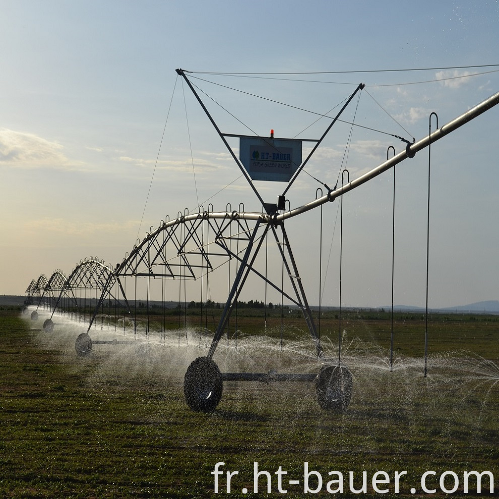 Agricultural Pivot Irrigation System