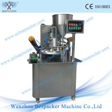 Rotary Tipo Automático Cup água Tray Sealing Machine
