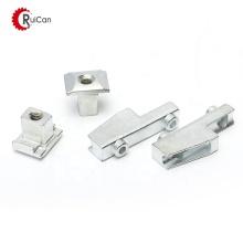 OEM customized investment casting steel round spacer male female aluminum fastener standoff door slider