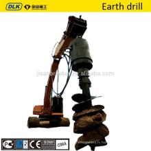 foret de forage de la terre pour l'excavatrice bobcat pelle pièces vente chaude